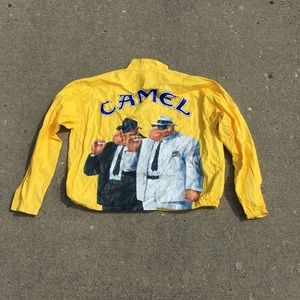 1992 Yellow Camel Windbreaker